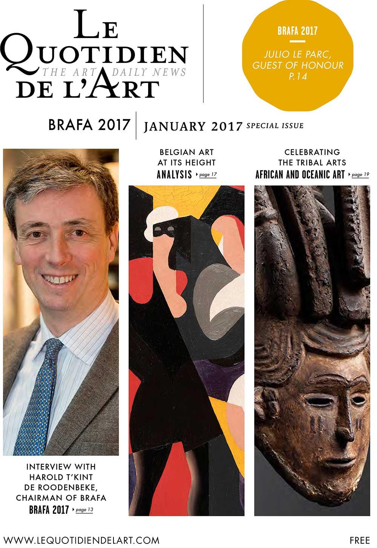 Quotidien-de-l'art-BRAFA-2018-Galerie-AB-Paris-expertises-et-estimations-d'oeuvres-d'art-et-de-tableaux-1