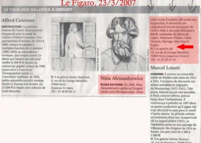 Le Figaro 2007