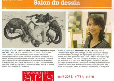 Connaissance des arts – 2013