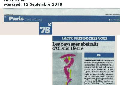 Le Parisien 2018