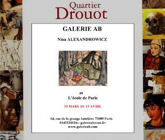 Dessins au Quartier Art Drouot – 2007