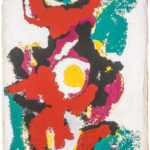 Karel-Appel-I-am-a-Totem-Galerie-AB-Paris-expertises-d'oeuvres-d'art-et-estimations-de-tableaux