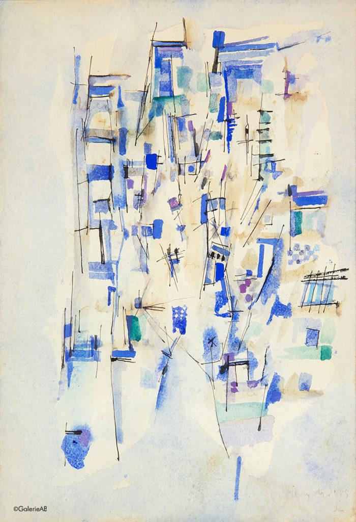 Viera-da-Silva-Galerie-AB-Paris-expertises-objets-art-et-estimations-tableaux